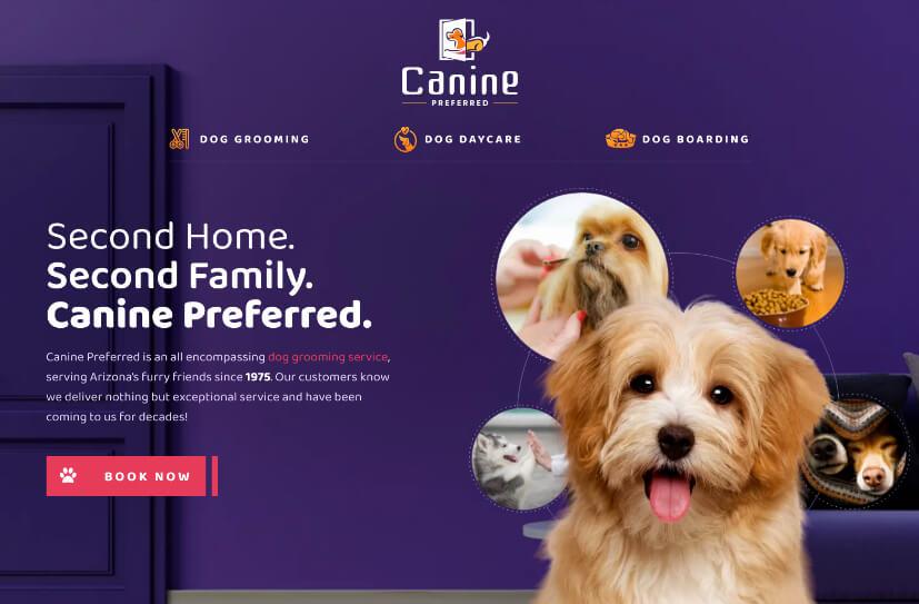 canine-preferred-site