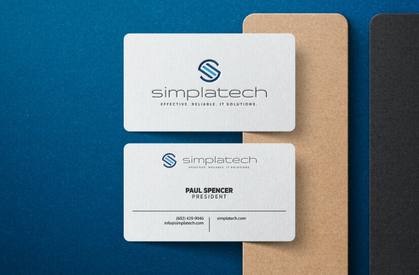 Simplatech Business Cards